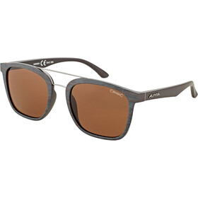 Alpina Caruma I Lunettes, brown-grey matt/brown